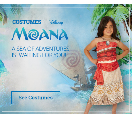 Moana Costumes