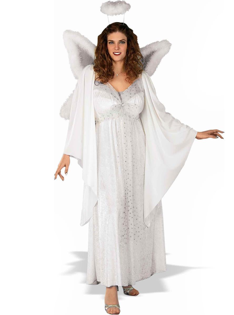 costume d 39 ange pour femme grande taille acheter en ligne. Black Bedroom Furniture Sets. Home Design Ideas