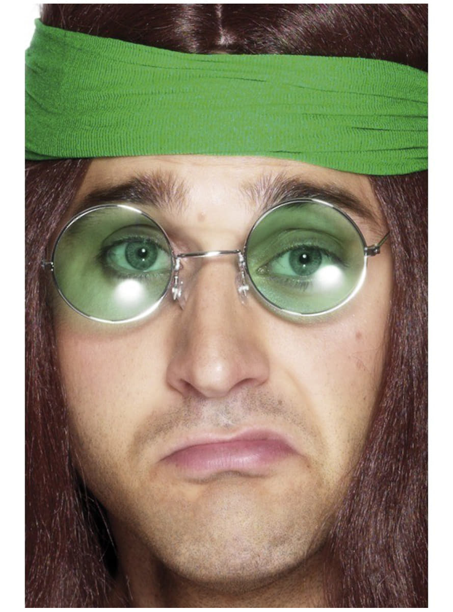 Lunettes hippies des ann es 70 pour d guisement funidelia - Hippie annee 70 ...