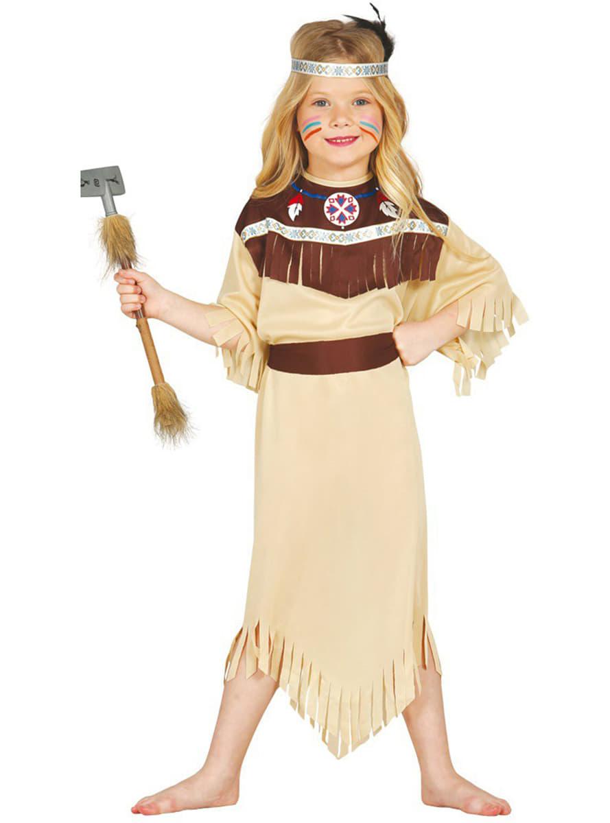 disfraz de india cherokee para nia