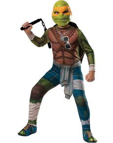 D guisement de michelangelo tortue ninja pour enfant - Tortue ninja michael angelo ...
