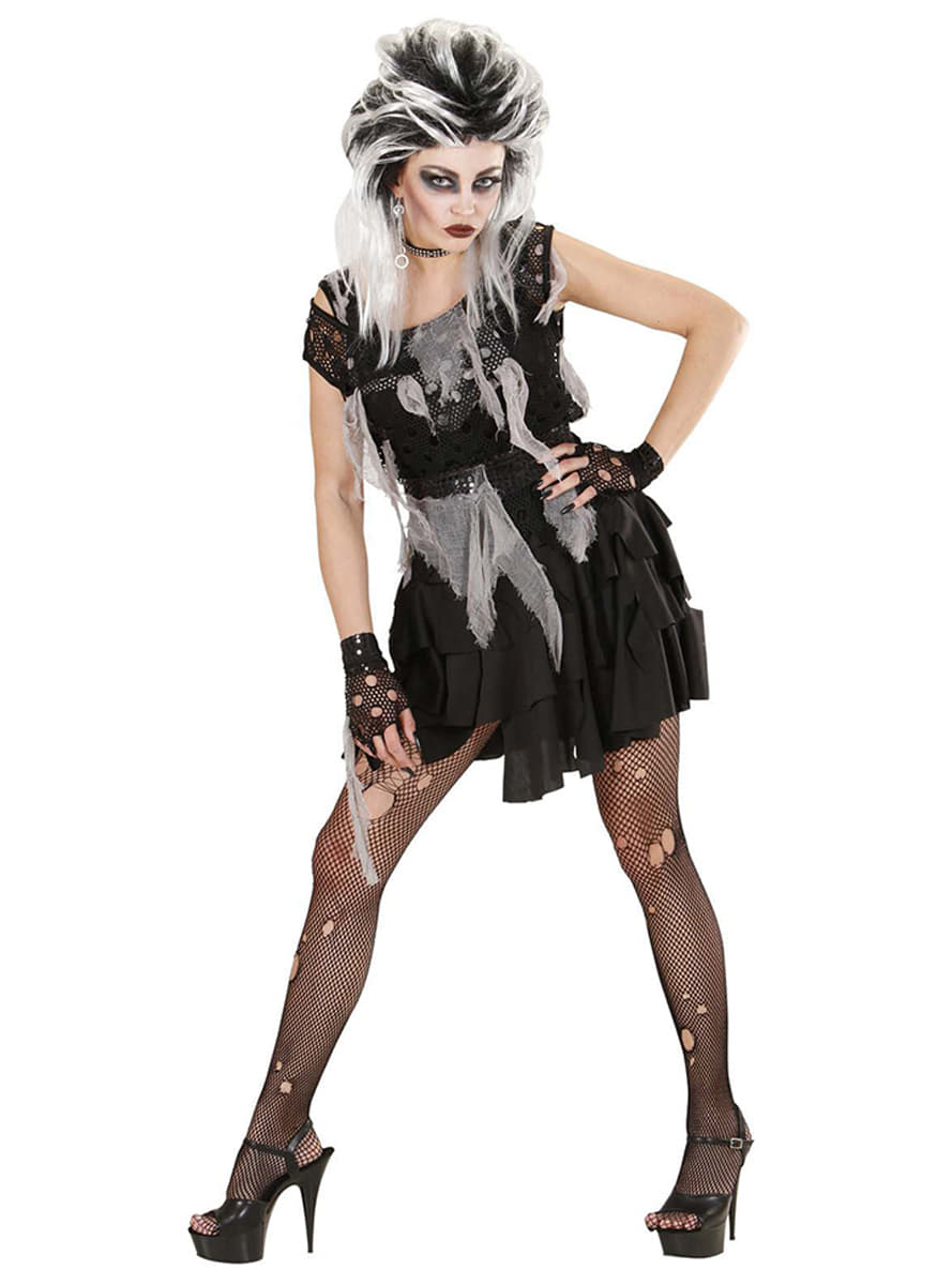 punky zombie kost m f r damen. Black Bedroom Furniture Sets. Home Design Ideas