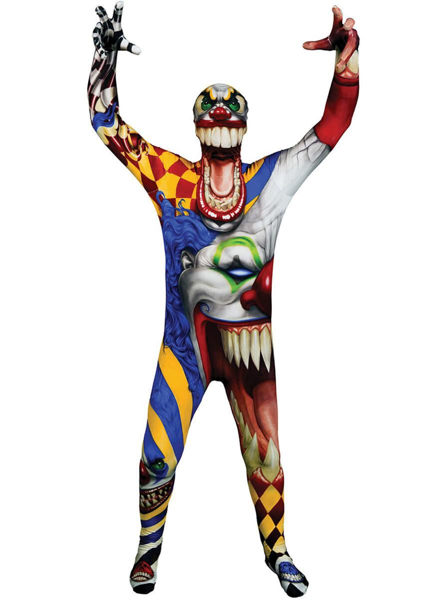 clown kost m f r kinder monster collection morphsuits funidelia. Black Bedroom Furniture Sets. Home Design Ideas