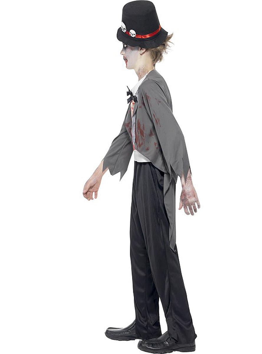 disfraz de novio zombie para nio