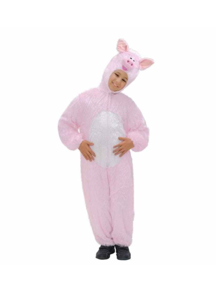 Costume da maialino di peluche per bambini for Maialino disegno per bambini