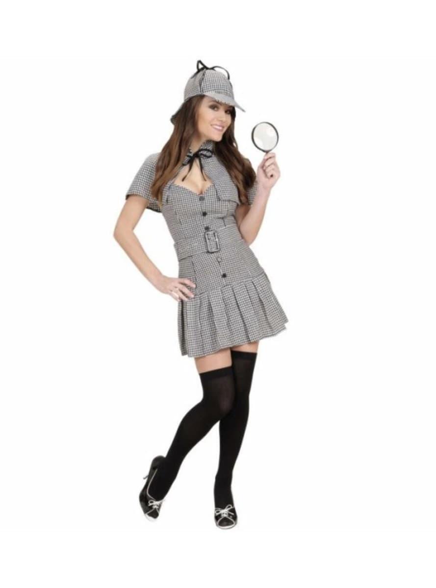 disfraz de detective sherlock para mujer comprar online