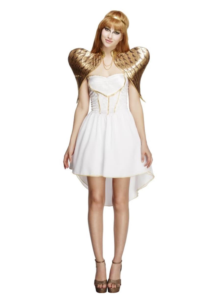 Disfraz de ngel dorado para mujer funidelia - Disfraces de angel para nina ...