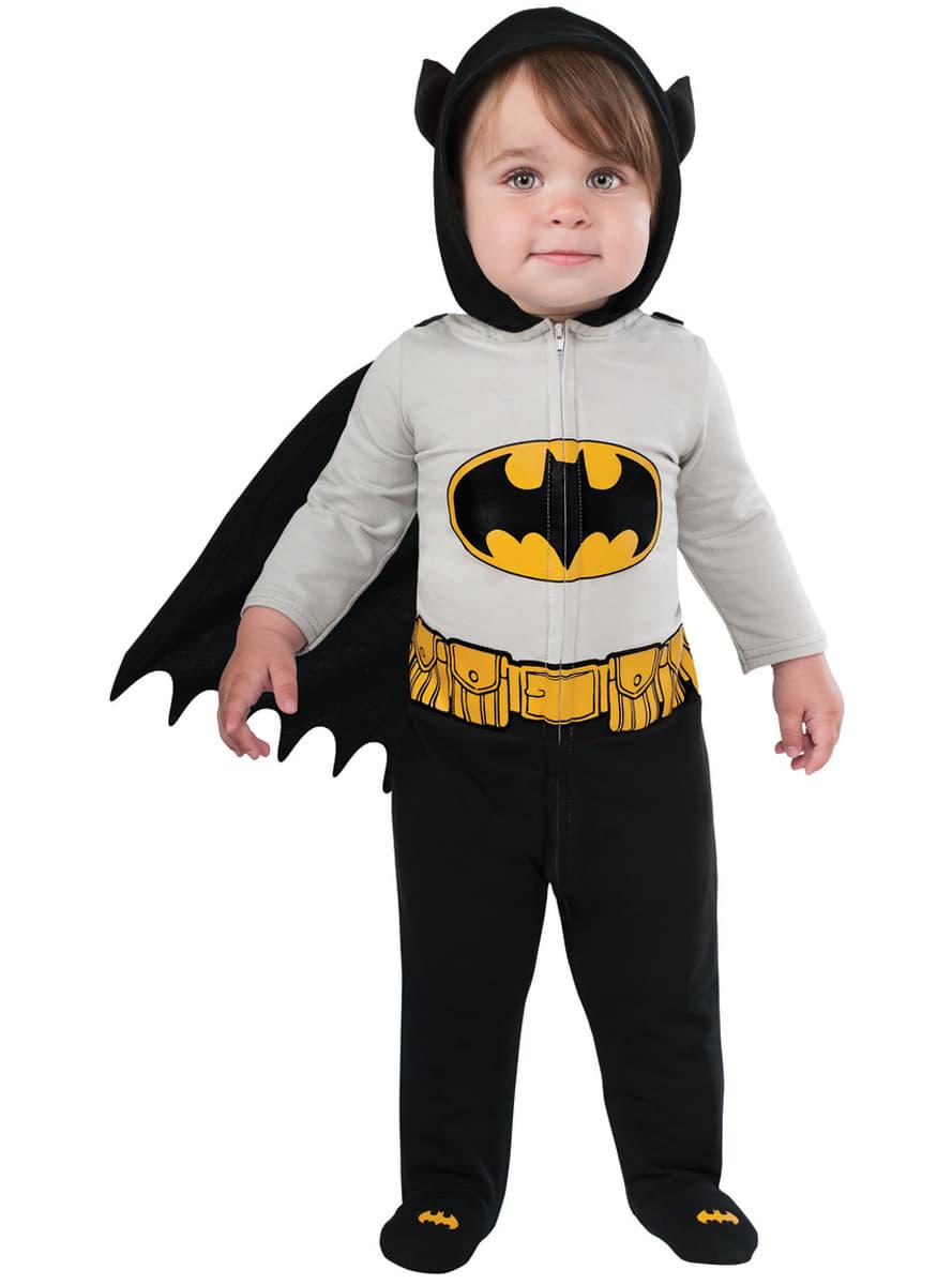 mutiger batman kost m f r babys dc comics funidelia. Black Bedroom Furniture Sets. Home Design Ideas