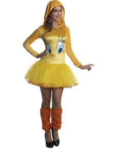womens tweety bird looney tunes costume - Yosemite Sam Halloween Costume