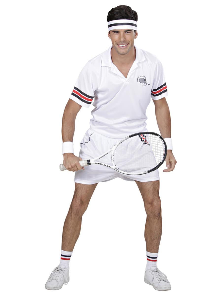 tennis spieler kost m f r herren funidelia. Black Bedroom Furniture Sets. Home Design Ideas