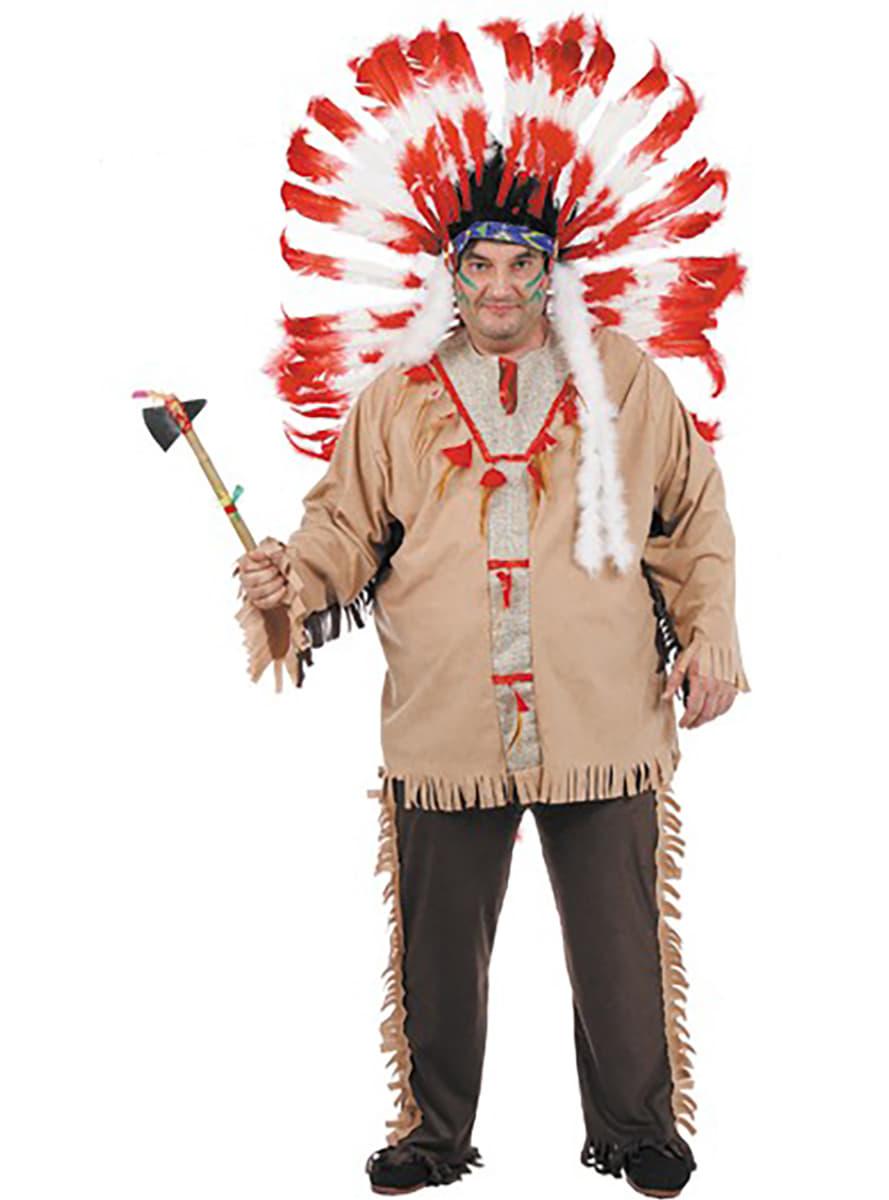 Costume D Indien : costume d 39 indien xxl acheter en ligne sur funidelia ~ Dode.kayakingforconservation.com Idées de Décoration