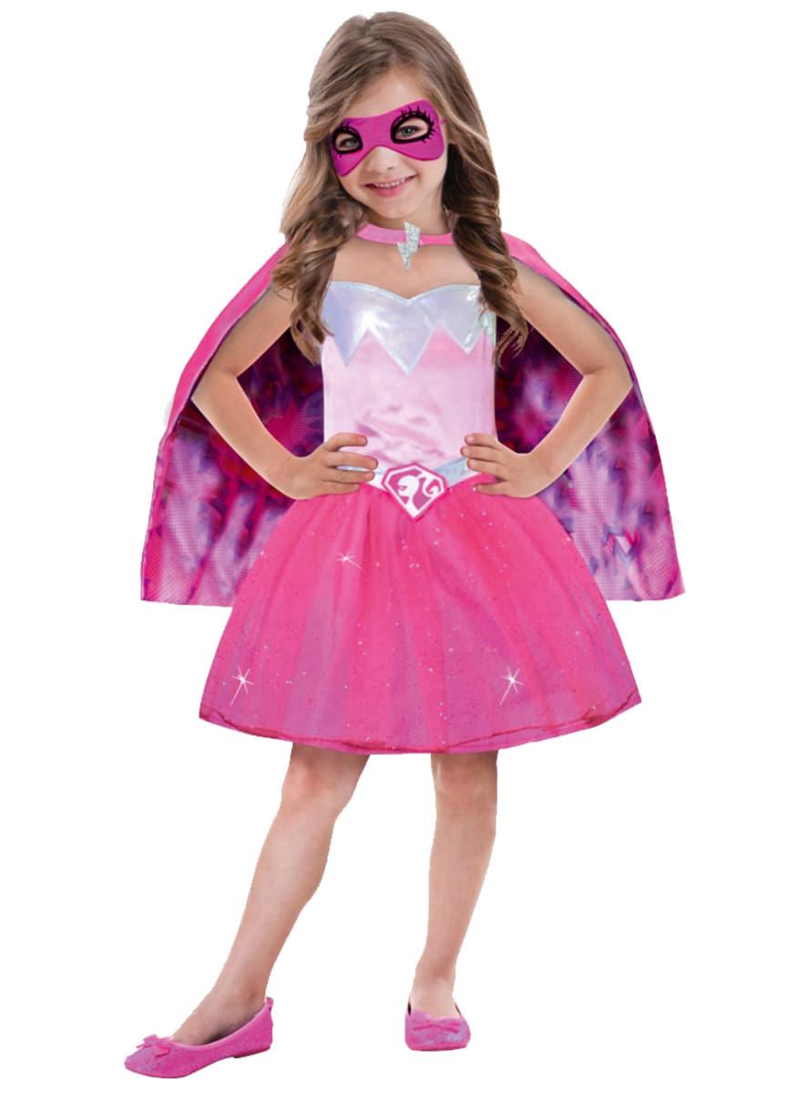 disfraz de barbie super herona para nia