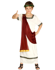 disfraz de romano elegante para nio