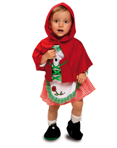 disfraz de caperucita adorable para beb