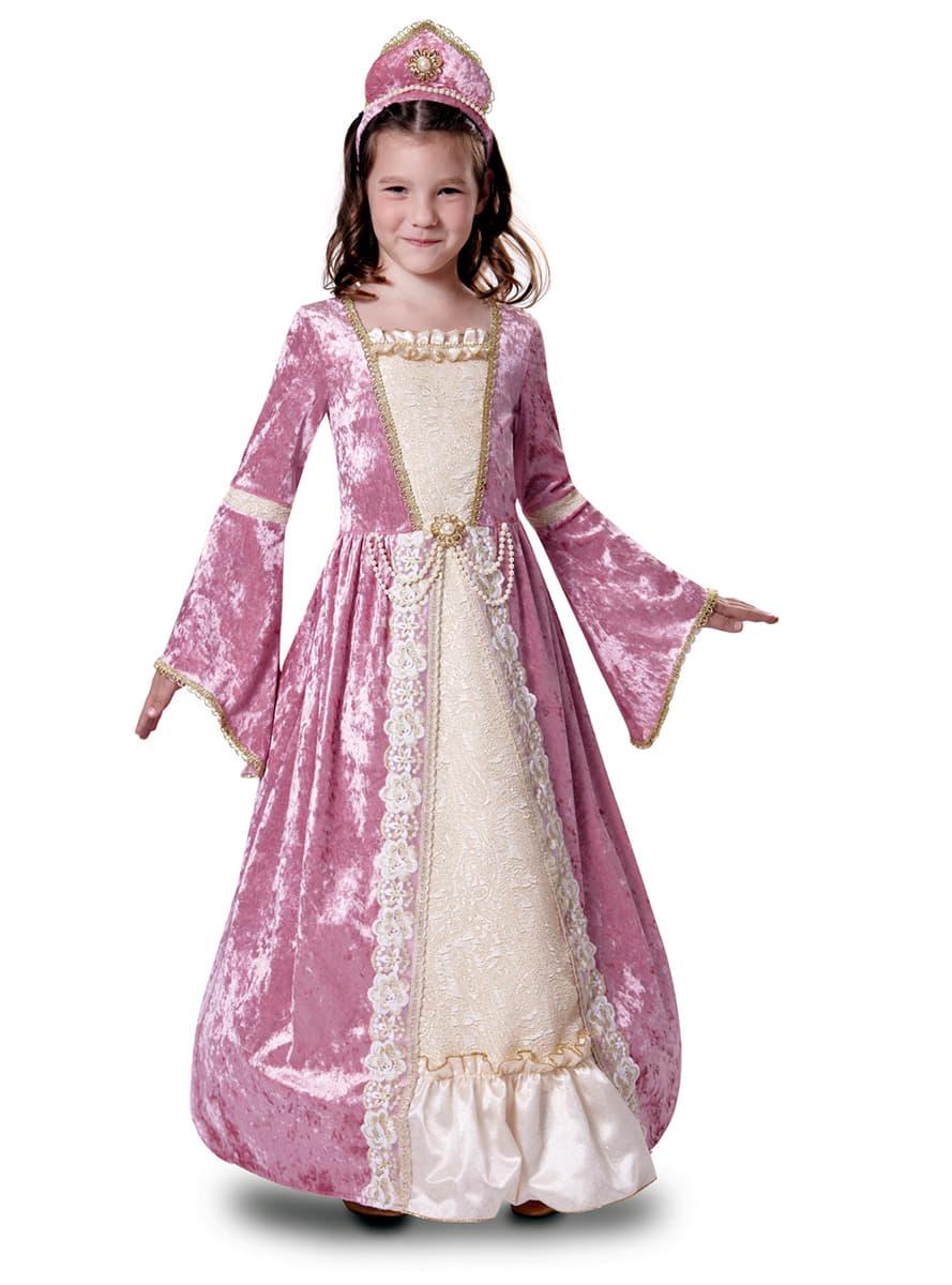 disfraz de princesa romntica rosa para nia