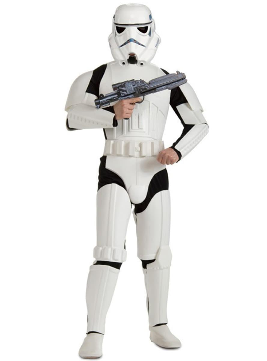 costume stormtrooper haut de gamme funidelia. Black Bedroom Furniture Sets. Home Design Ideas