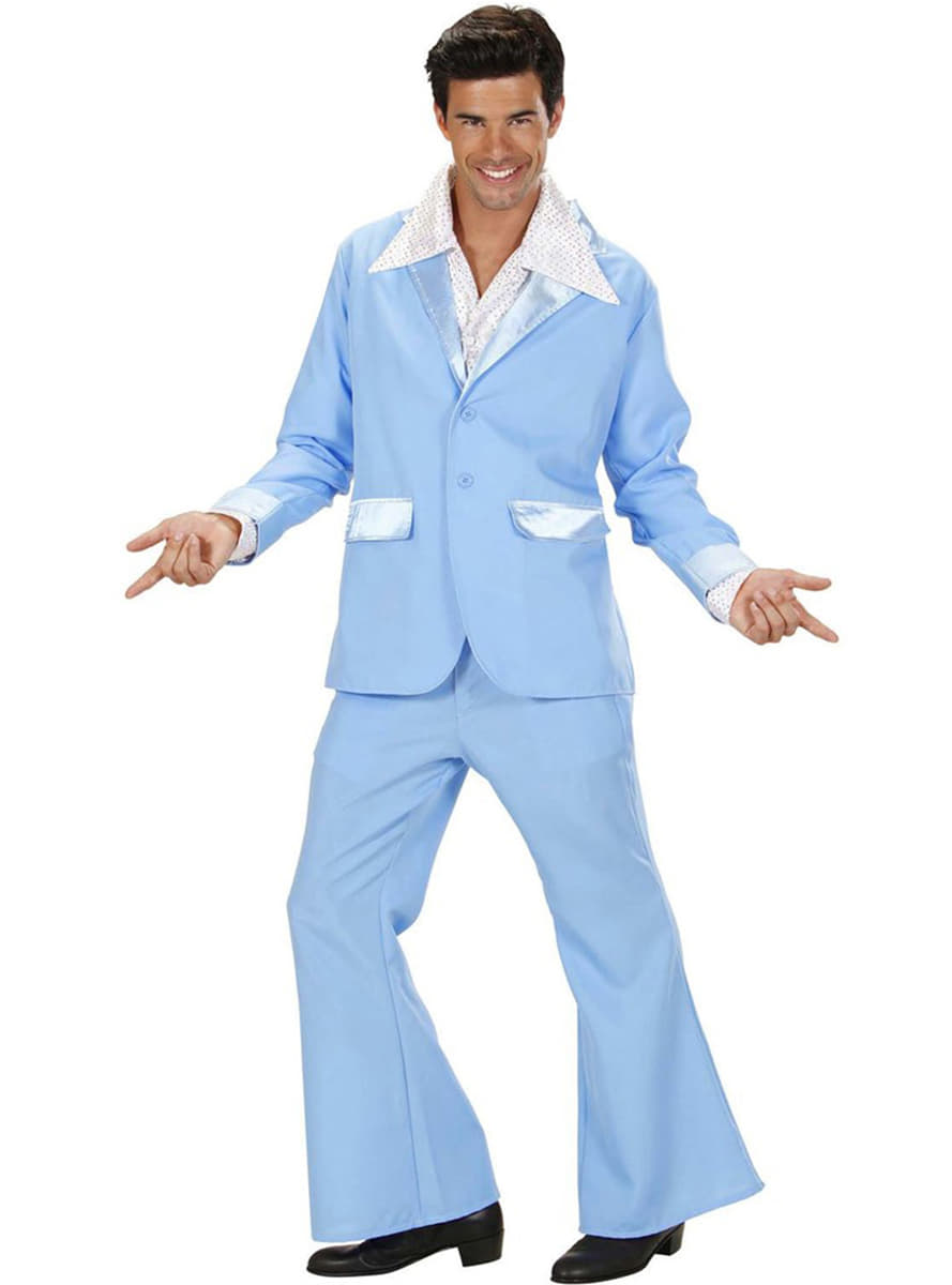costume disco bleu homme. Black Bedroom Furniture Sets. Home Design Ideas